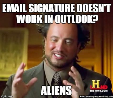 Email Meme - funny email signature memes