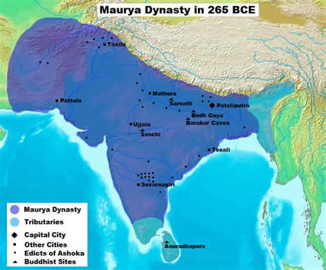 maurya empire gallery ashoka the great rise and fall of budhism