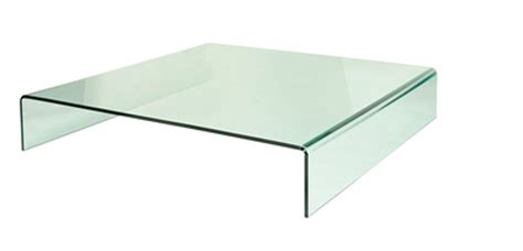 coffee table loop low glass square low glass coffee