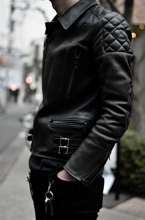 Jaket Bb Dc 1 leather jacket thick black black details fashion