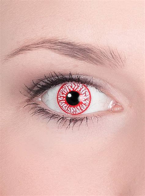 special effects color contacts bloodshot special effect contact lens
