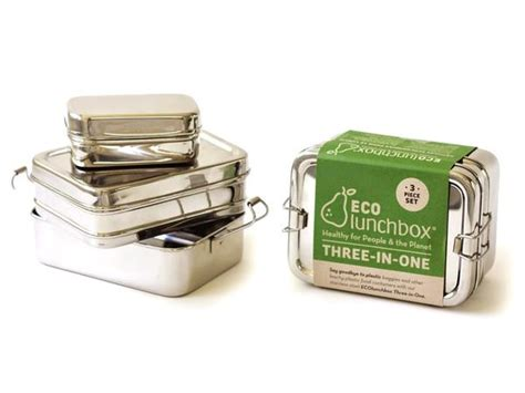 Kotak Makan Lunch Box Hello 3in1 Stainless non plastic boxes bento co