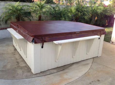 keys backyard spa cover spa covers hot tub covers gallery orange county ca