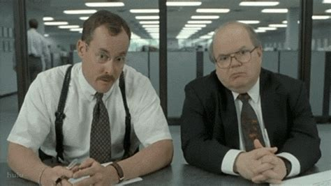 Office Space What Would You Say Gif Joelaz What Would Ya Say You Do Here The Movielove