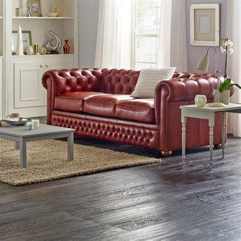 chesterfield leather sofa bed chesterfield 3 seater sofa bed from sofas by saxon uk
