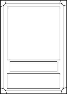 make your own card template blank trading cards sports and cards on
