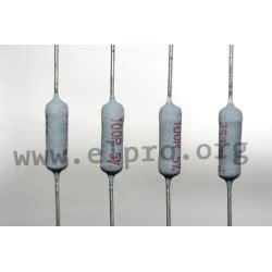 fusible wirewound resistor fusible wirewound resistors elpro elektronik