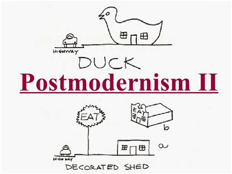 Robert Venturi Duck Decorated Shed by 43 Postmodernism Ii Quot The Decorated Shed Quot