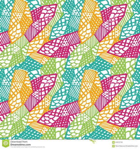 colorful ethnic wallpaper colorful grunge ethnic background seamless vector pattern