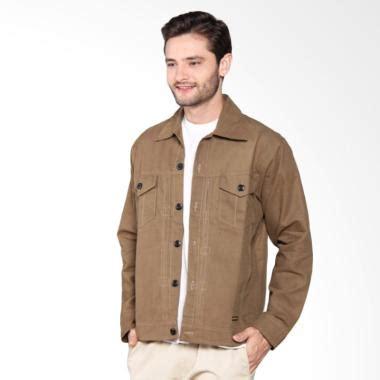 Jacket Rice Trendy Brown Jaket Pria jual hemmeh kanvas jaket pria brown harga kualitas terjamin blibli