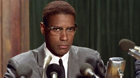 denzel washington malcolm x glasses how spike lee s malcolm x helped black america find its