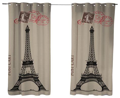 paris curtain panels dream fun home decor bonjour paris curtain panel