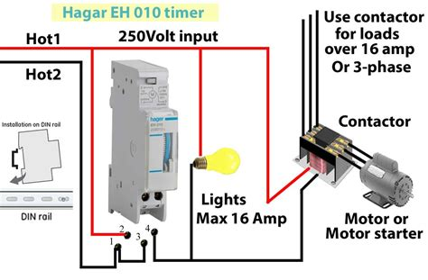 diagram contactor wiring diagram also series timers and