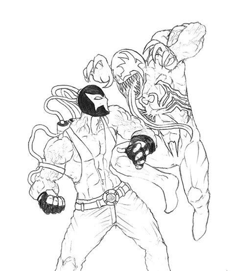 dark knight rises bane coloring pages