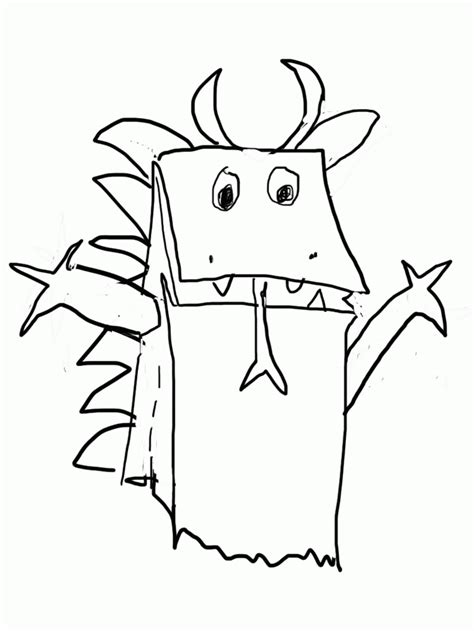 simple dragon coloring page simple dragon outline coloring home