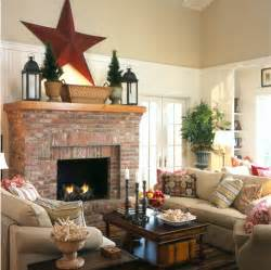 Living Room With Brick Fireplace Painting An Brick Fireplace Simplified Bee