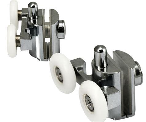 Quadrant Shower Door Wheels 2pcs X Shower Door Wheels Bottom Rail Suit Quadrant Rollers L83 Ebay