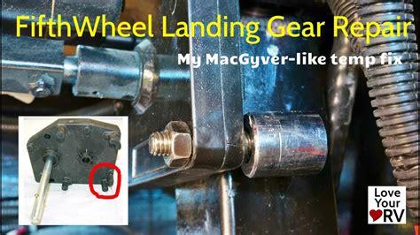 wheel landing gear temp repair youtube