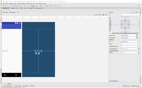 android studio layout design view android studio part of design view hidden stack overflow