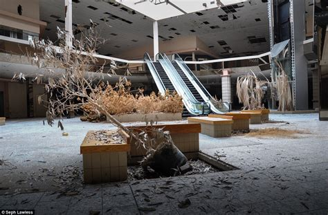 Randall Park inside abandoned malls that were once beacon of american