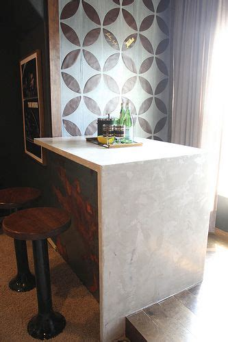 diy waterfall edge concrete marble  countertops
