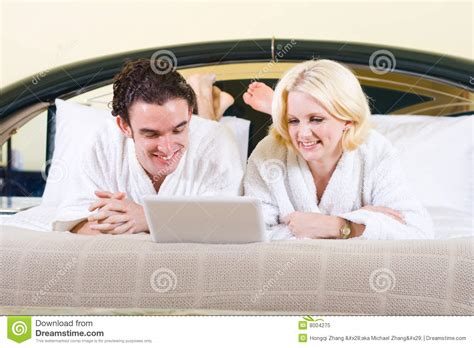cute couples in bed cute couple in bed royalty free stock photo image 8004275