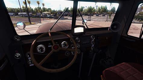 Truck Interiors by Peterbilt 351 Truck Interior V3 0 American Truck Simulator Mod Ats Mod