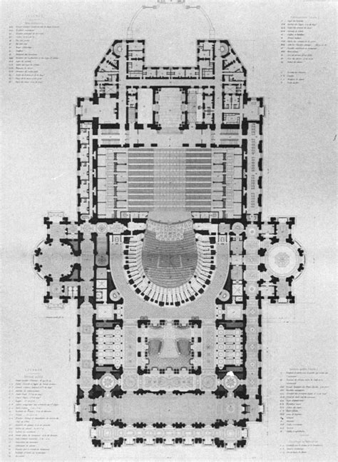 Architectural Plans file palais garnier plan at the first loge level mead
