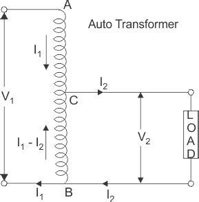 autotransformer diagram what is auto transformer