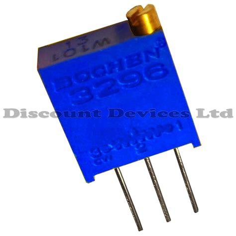 multi turn variable resistor 3296 multiturn preset resistor variable trimmer potentiometer pot ebay
