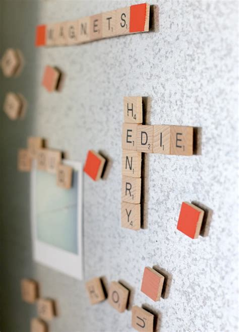 how to make scrabble how to make scrabble magnets say yes