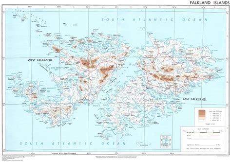 falkland islands on map falkland islands fifteen dots information