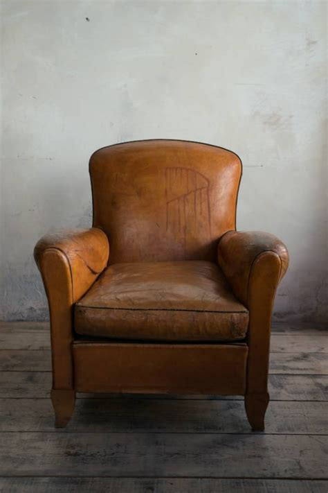 Chair Proportions by Leather Club Chair Of Small Proportions C 1935 In Furniture
