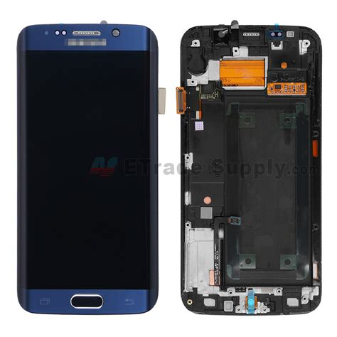 Lcd Samsung S6 Edge how to replace a galaxy s6 edge cracked screen