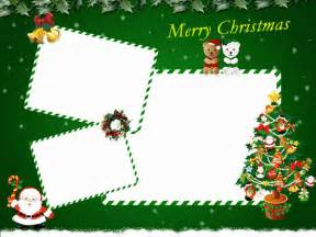 Template Christmas Card Free A Variety Of Free Christmas Card Templates For You To Diy