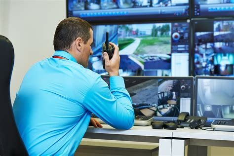 security monitors remote surveillance cctv monitoring system services
