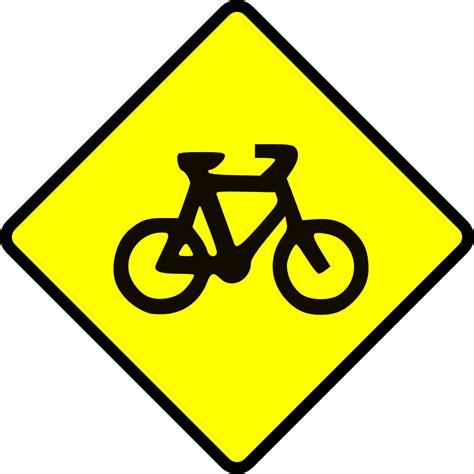 printable australian road signs onlinelabels clip art caution bike