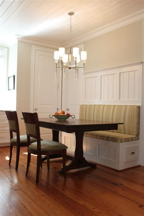 corner banquette dining 11 best bead board images on pinterest kitchenette