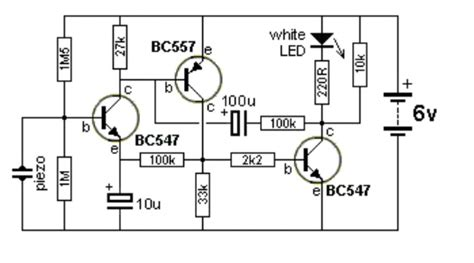 how does an electric circuit work capacitor how does this circuit with three transistors