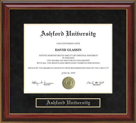 Mba Iowa Graduate With Honors ashford mahogany diploma frame wordyisms