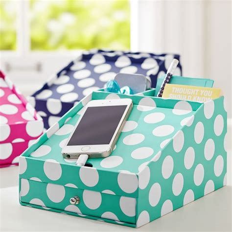 Preppy Desk Accessories Printed Desk Accessories Phone Charging Station Pbteen
