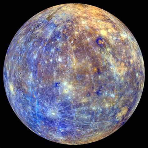 mercury planet color extraordinary shows entire surface of mercury in
