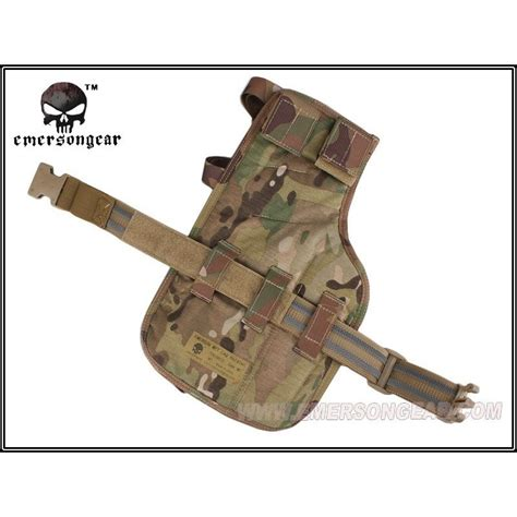 Emerson Mp7 Smg Tactical Drop Leg Holster Aor 1 emerson mp7 leg holster aor2 softair