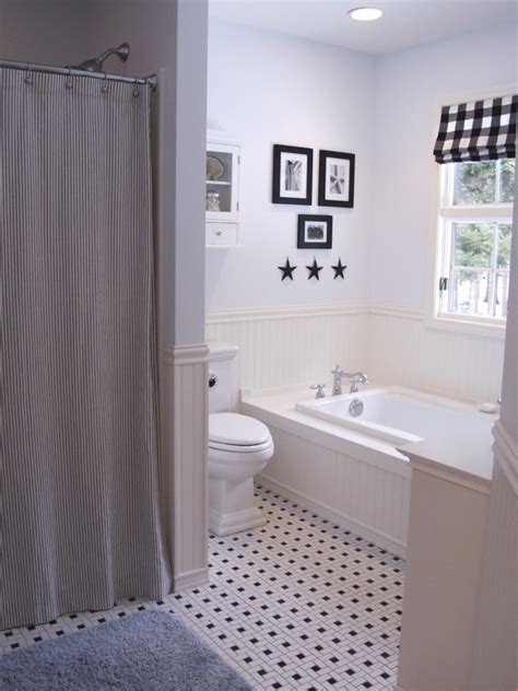 black and white bathroom designs hgtv black and white bathroom designs bathroom ideas