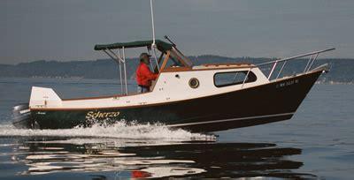 dory boat cabin custom wood boat 23 planing dory