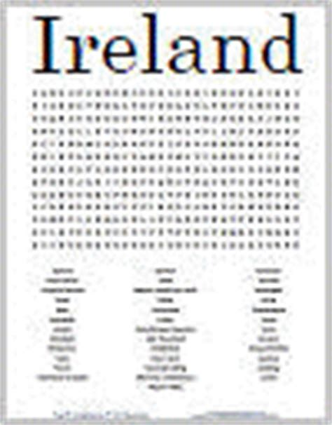 printable irish word search free printable blank word search puzzle grid student