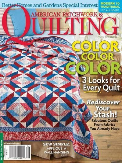 American Patchwork And Quilting Quilt Sler - american patchwork quilting