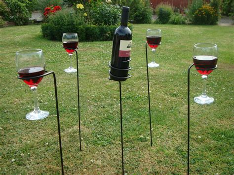 backyard drink holders garden drinks pack g0009 drink holders plant supports