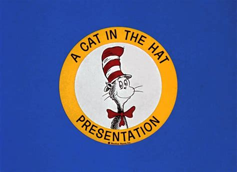 A In The a cat in the hat presentation 1966