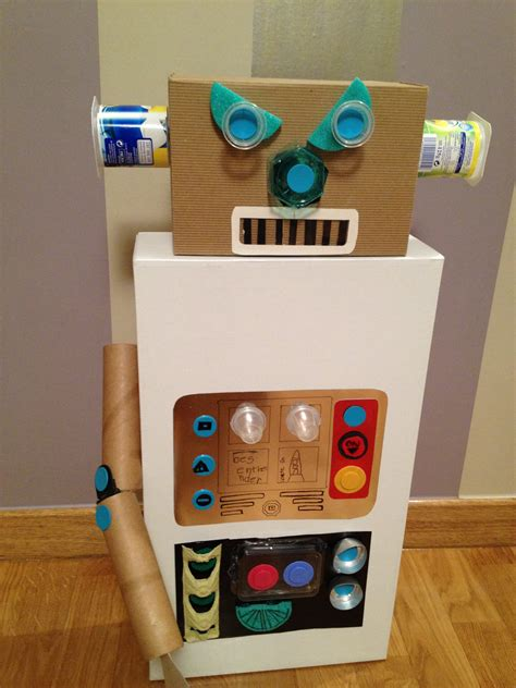 robot reciclado manualidades infantiles como hacer un robot reciclado robot reciclado con tus manitas